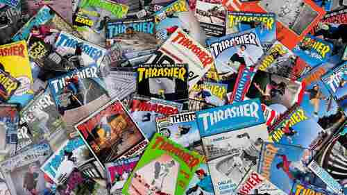 'Artists, Weirdos, Hellriders And Homies:' Thrasher Magazine Turns 40