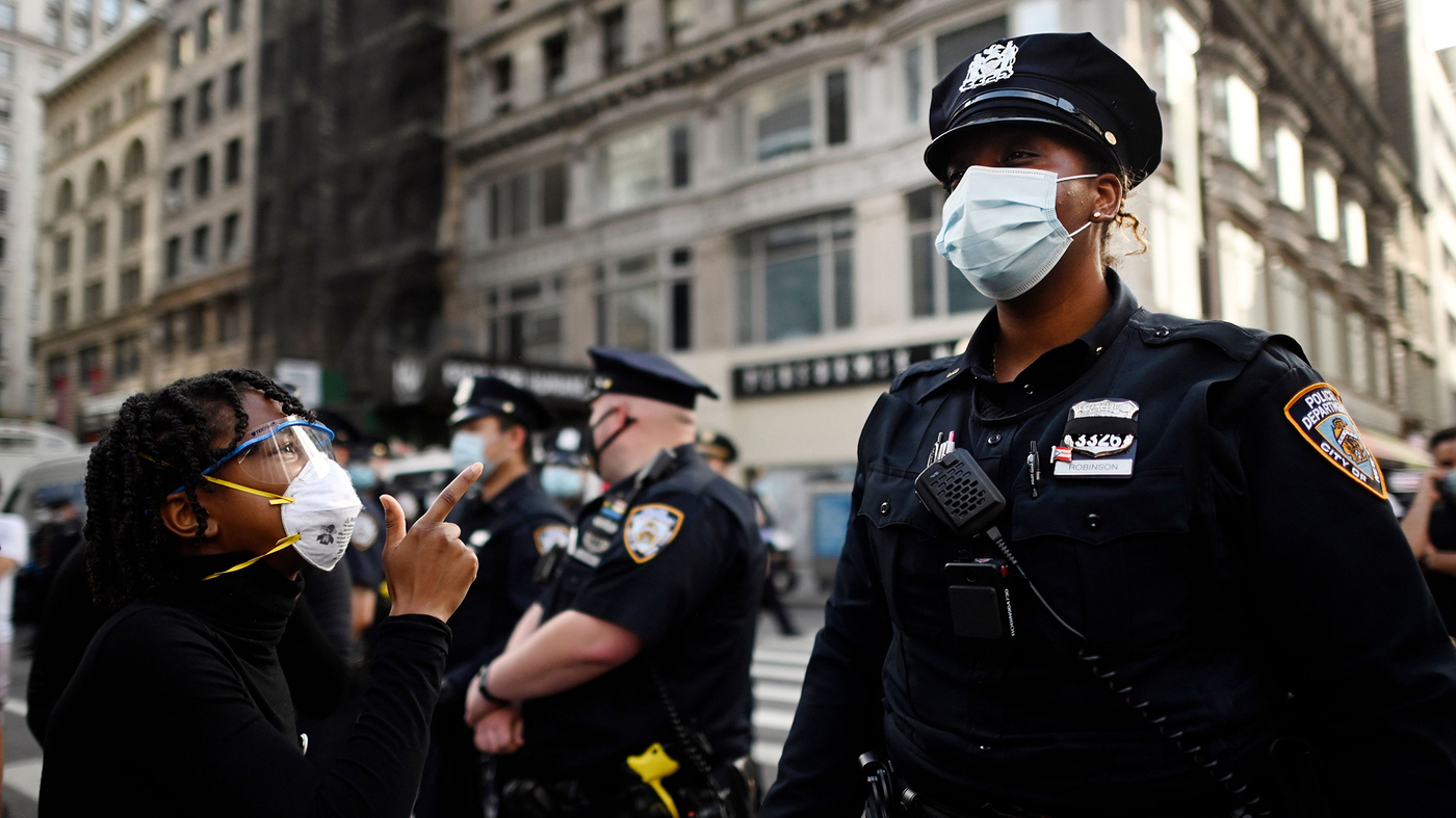 New York State Sues NYPD Over Its Handling Of 2020 Racial Justice Protests – NPR