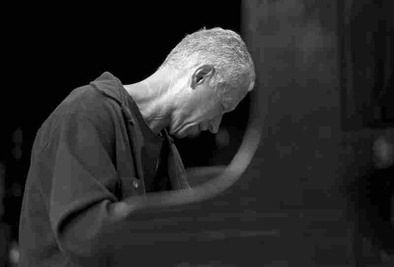 Keith Jarrett performing in Budapest.
