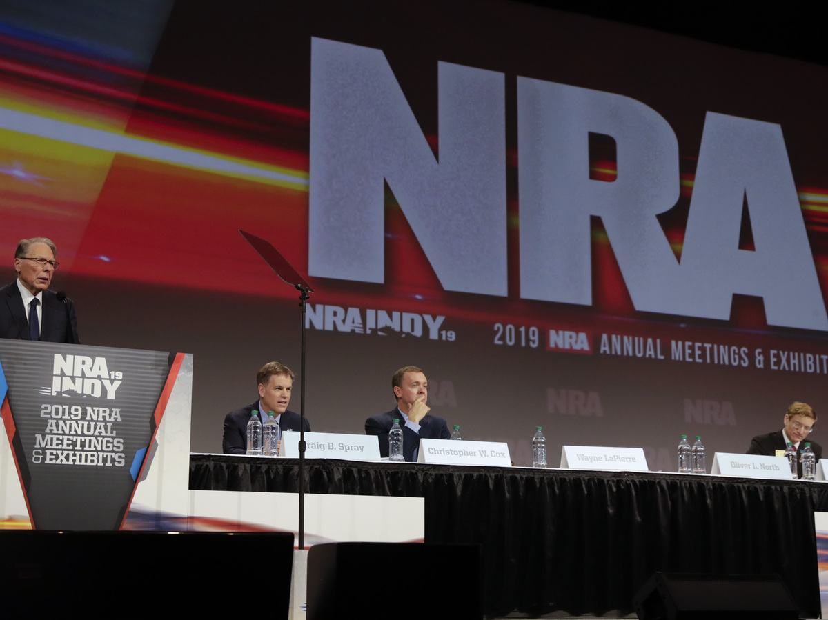 NRA Files for Bankruptcy in Texas as New York Pursues Fraud Lawsuit