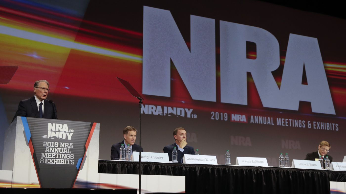 NRA Files For Bankruptcy Amid Fraud Suit In New York – NPR