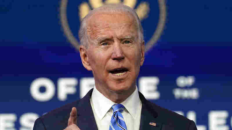 'We're In A War With This Virus': Biden Lays Out COVID-19 Vaccine Distribution Plan
