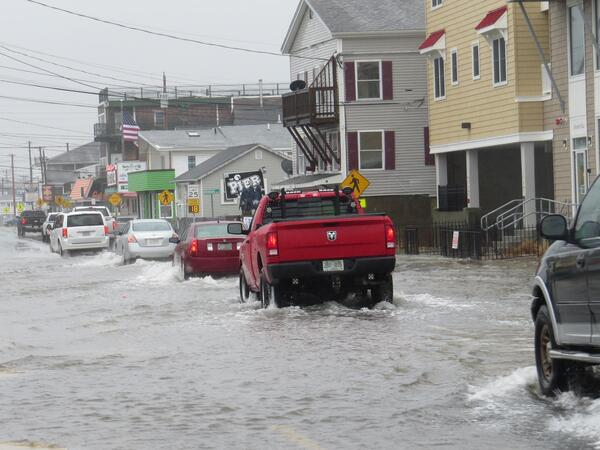 Inland parts of northern New England expect people to migrate from coastal towns like Hampton, N.H., where high-tide flooding is increasing because of rising seas.