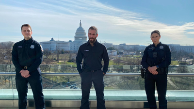 Meet Three D.C. Police Officers Who Fought For The U.S. Capitol