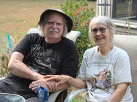 Doug and Judith Saum moved to New Hampshire from Reno, Nevada, to escape the health effects of worsening wildfire smoke<em>.</em>