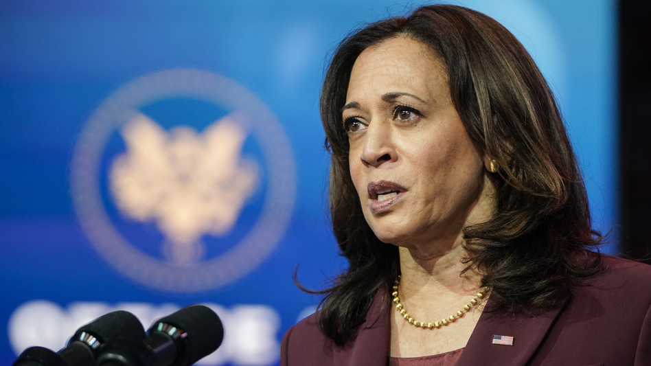 Vice President-elect Kamala Harris will leave her Senate seat on Monday, but when she's sworn in to her new office on Wednesday, Harris will take on a very powerful tiebreaking role in the chamber. (Joshua Roberts/Getty Images)