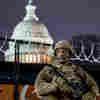 Up To 25,000 Troops Descend On Washington For Biden's Inauguration
