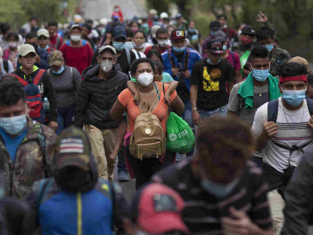 Migrant Caravan: Thousands Move Into Guatemala, Hoping To Reach U.S.