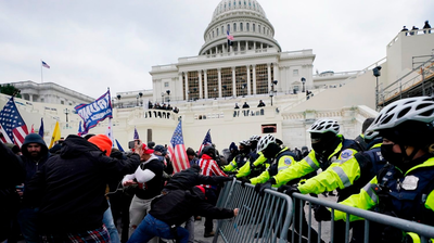 Maryland Man Arrested After GPS Unit Allegedly Shows He Was At Capitol Riot