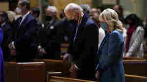 Biden Attends Mass Before His Swearing In As Nation's 2nd Roman Catholic President