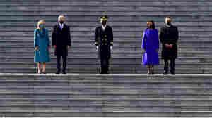 Biden Receives Presidential Escort To The White House