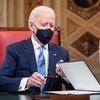 Biden rief in seiner Antrittsrede zur Einheit auf. Es könnte ihm schwer fallen, vorbeizukommen