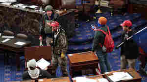 Nearly 1 In 5 Defendants In Capitol Riot Cases Served In The Military