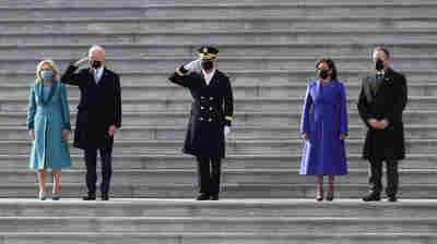 PHOTOS: Biden, Harris Assume Office During Unique Inauguration Ceremony