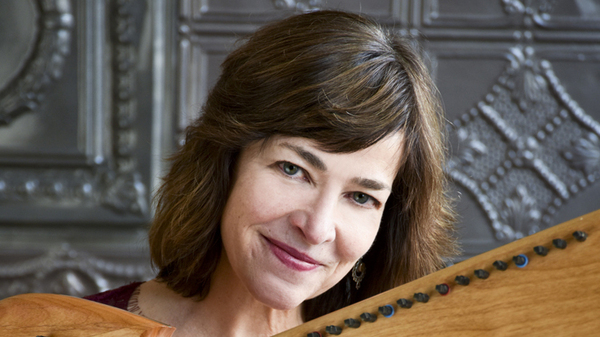 Celtic harpist Kim Robertson is featured in this week