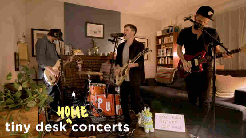 PUP: Tiny Desk (Home) Concert