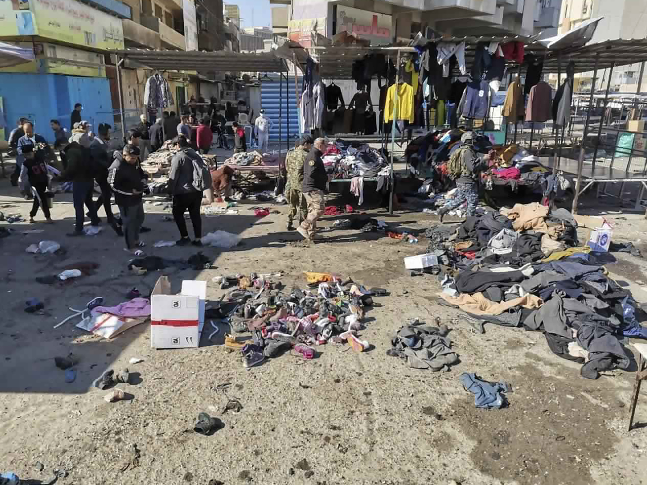 ISIS Claims Baghdad Twin Bombing That Killed 32, Wounded 110
