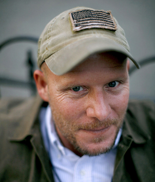 David Gilkey photographed by his longtime friend and colleague Chip Somodevilla.