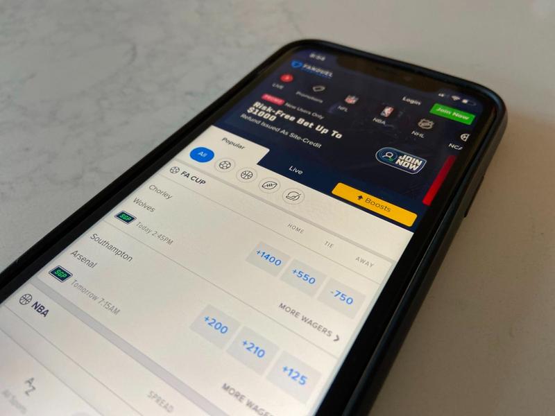 Team Betting App