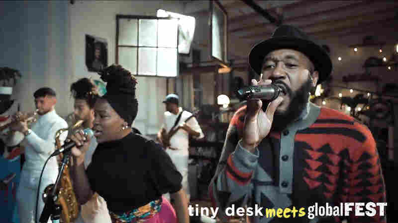 Vox Sambou: Tiny Desk (Home) Concert