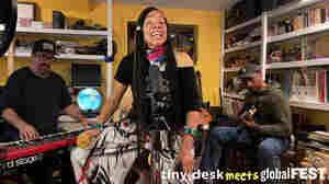 Martha Redbone: Tiny Desk (Home) Concert