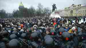 Protests Swell Across Russia Calling For The Release Of Kremlin Critic Alexei Navalny