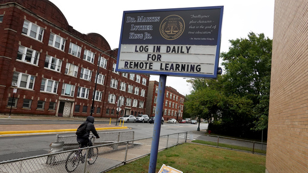 The Chicago Teachers Union voted on Sunday to continue remote work only, in defiance of the school district