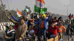 Protesting Farmers Flood India's Capital, Storm Historic Fort