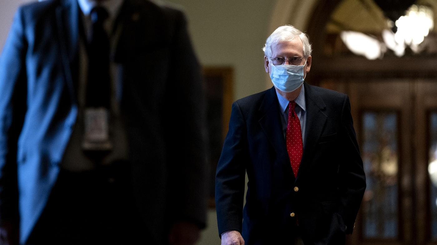 McConnell Relents On Senate Filibuster Stalemate - NPR
