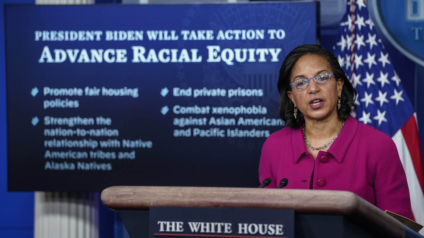 www.npr.org: Biden White House Aims To Advance Racial Equity With Executive Actions