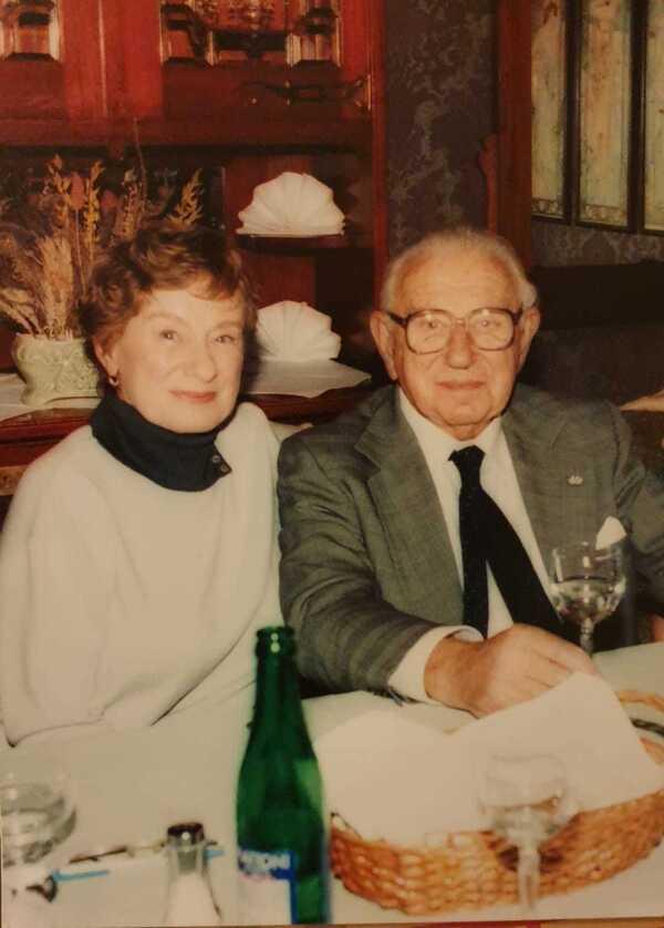 Vera Gissing and Nicholas Winton