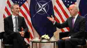 Biden Team's Video Of Call With NATO Chief Provides Rare Insight