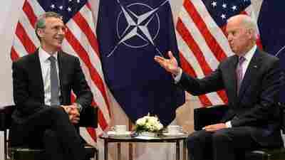 Biden Team's Video Of Call With NATO Chief Provides Rare Insight