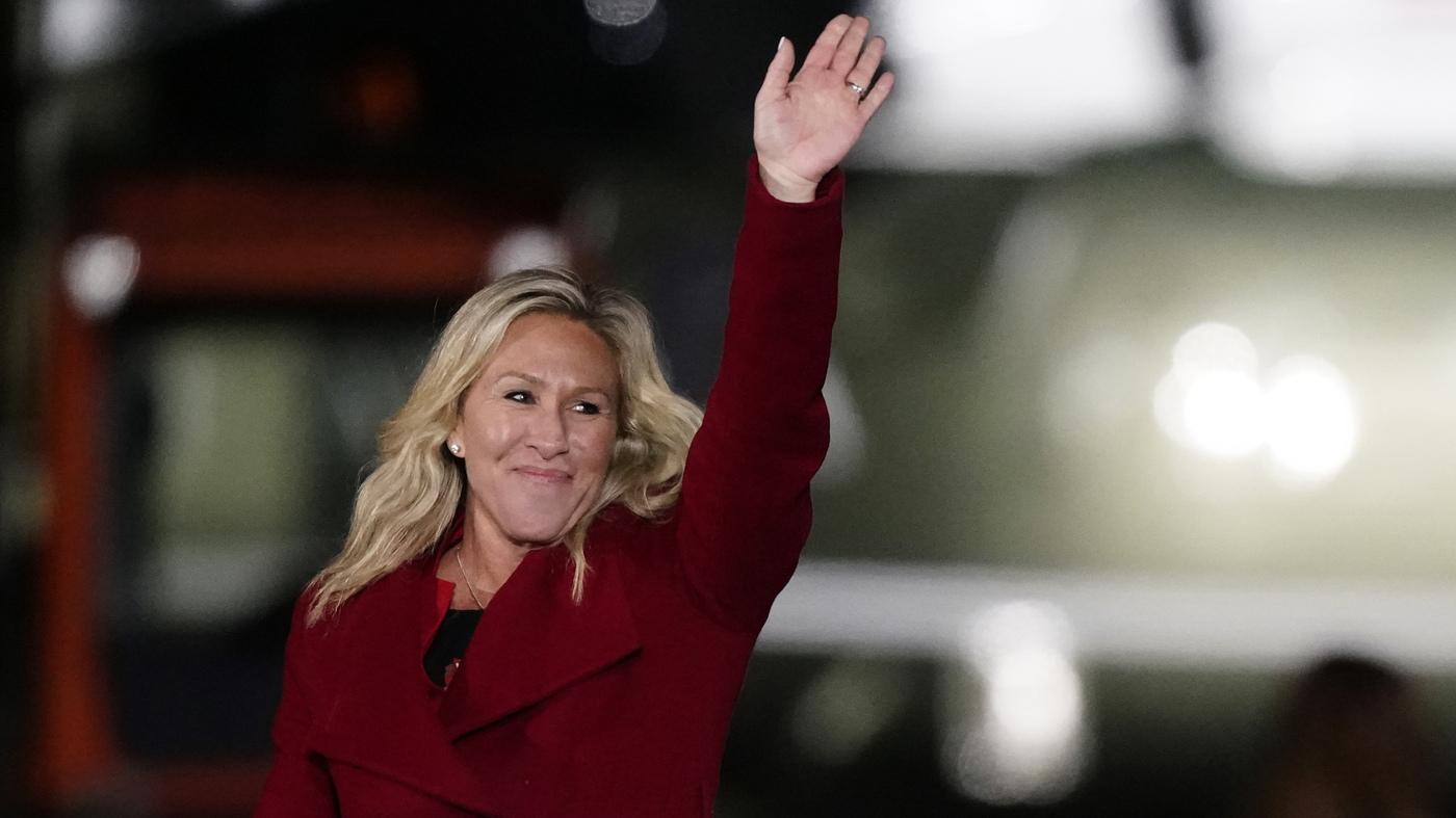 Pelosi Blasts GOP Leadership Over Rep. Marjorie Taylor Greene's Remarks – NPR