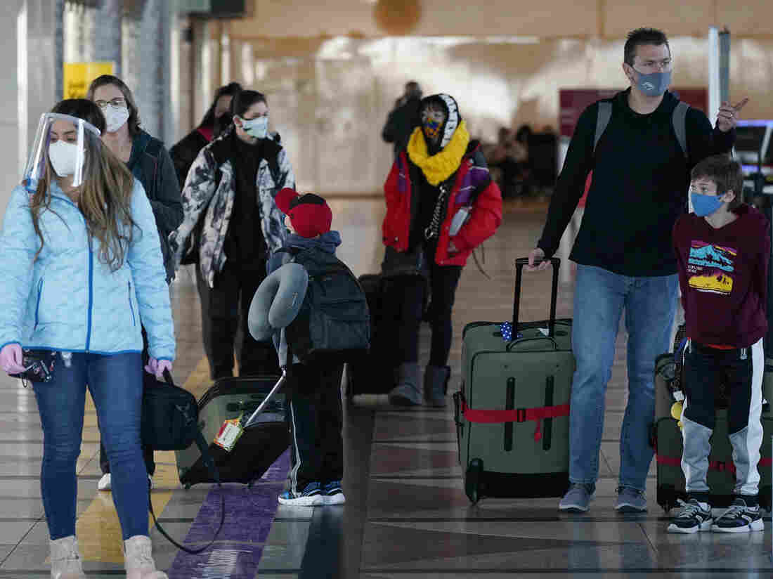 CDC Issues Mask Mandate for Public Transportation and Planes in U.S.""