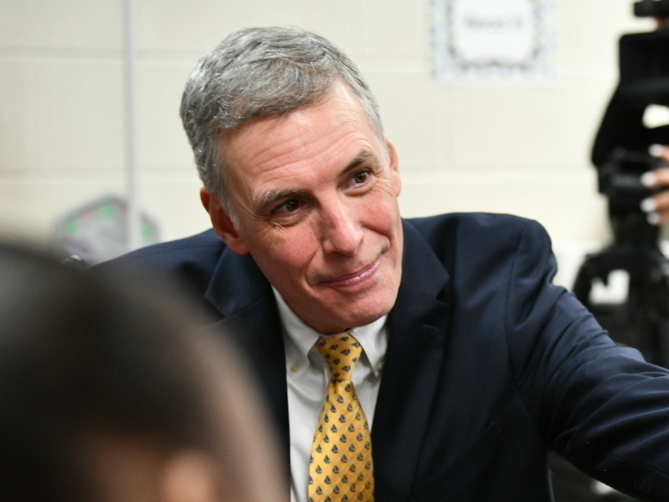 U.S. Rep. Tom Rice, pictured in 2019, was formally censured by South Carolina's Republican Party Saturday for his support of Trump's impeachment. Rice was one of only 10 House Republicans to join Democrats in voting to impeach. (Meg Kinnard/AP)
