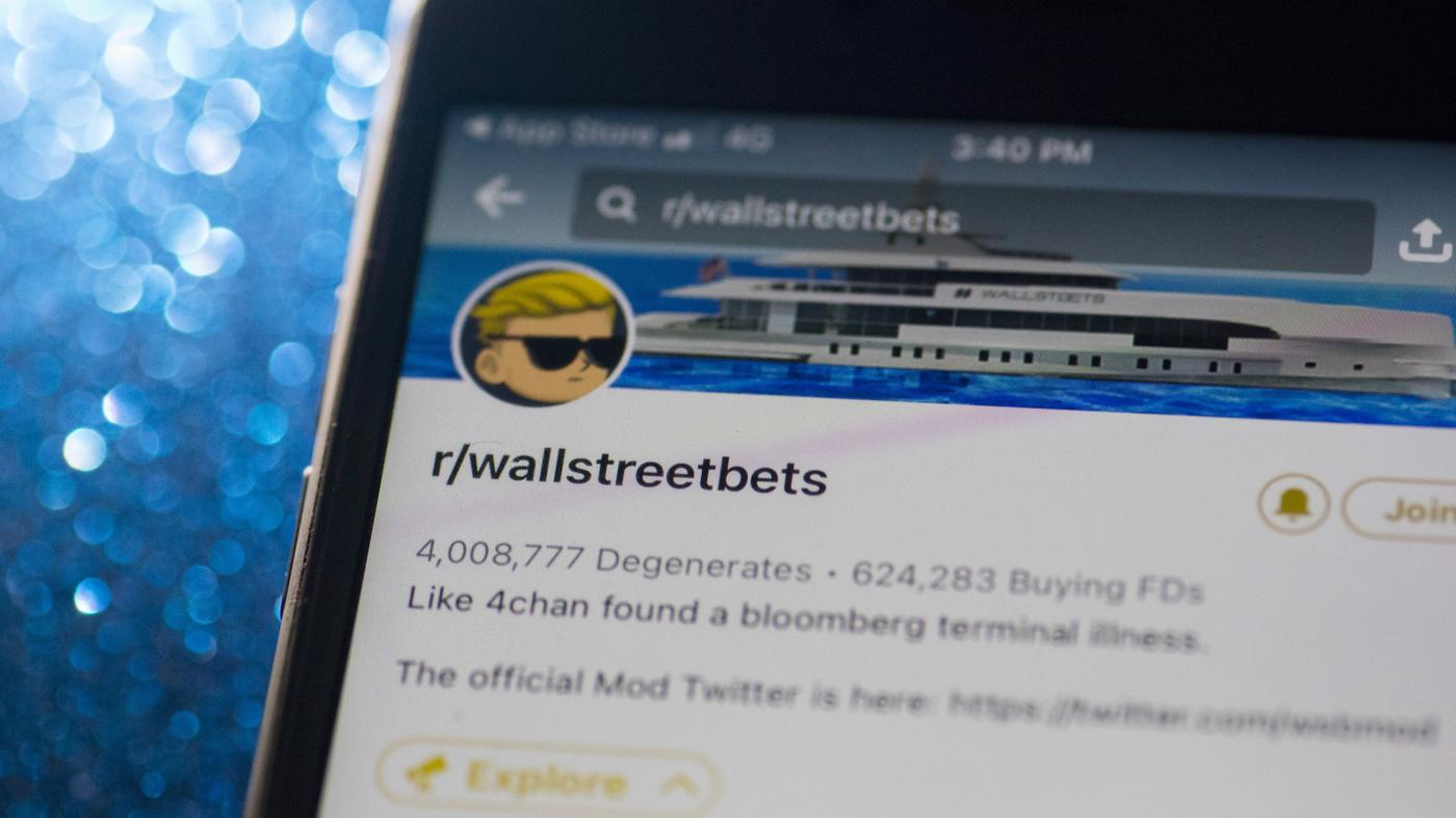 Reddit WallStreetBets Founder Calls GameStop Stock Frenzy A 'Symbolic Movement' – NPR