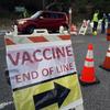 Vacinações LA COVID-19 atrasadas por manifestantes