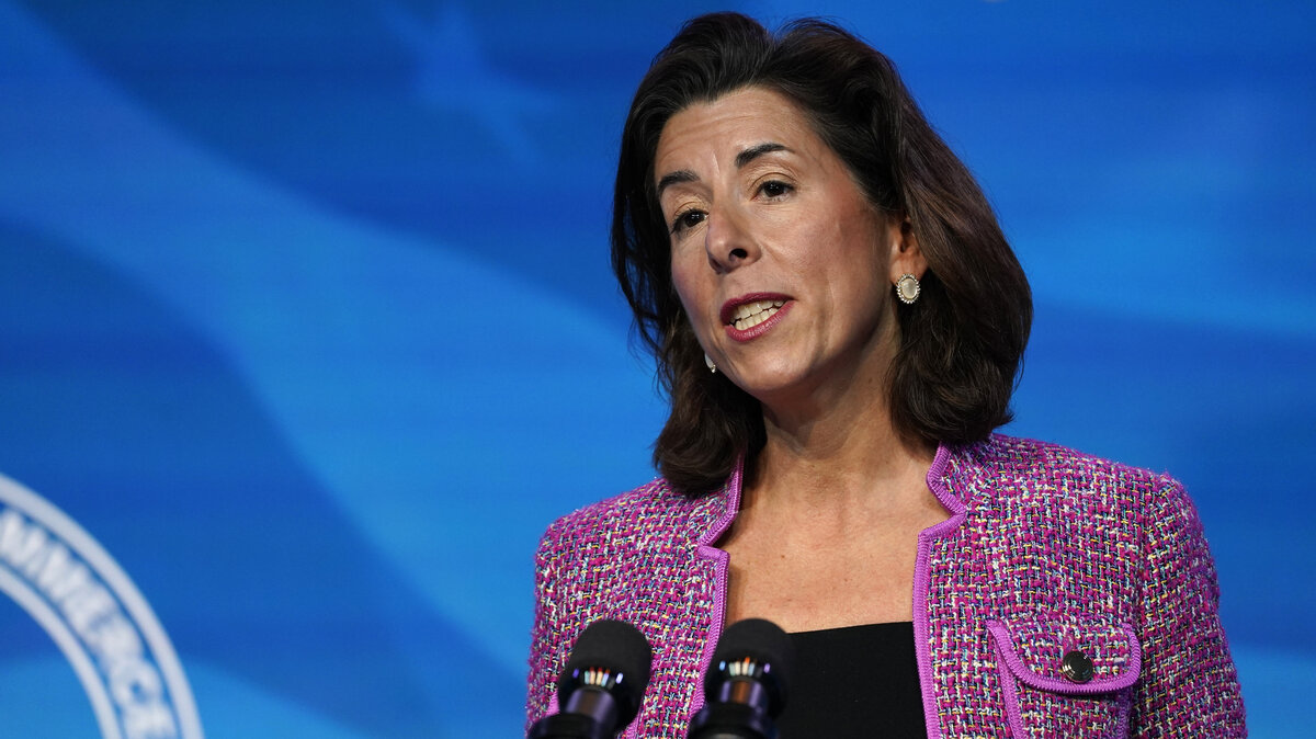 Gina Raimondo confirmed as Commerce Secretary