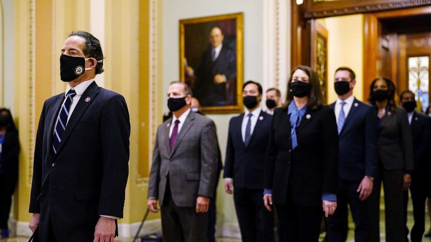 READ: House Impeachment Managers Outline Case Against Trump – NPR