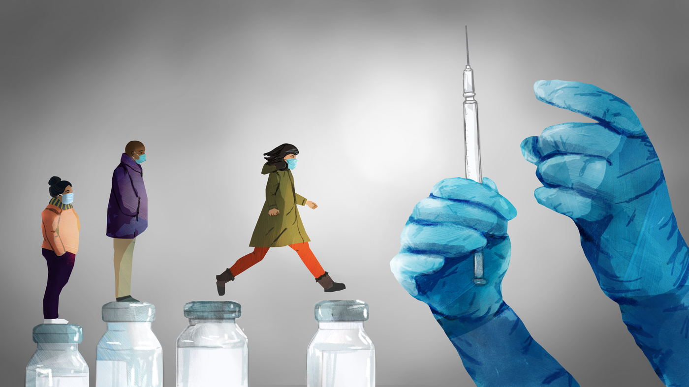 Is It Ever OK To Jump Ahead In The Vaccine Line? - NPR