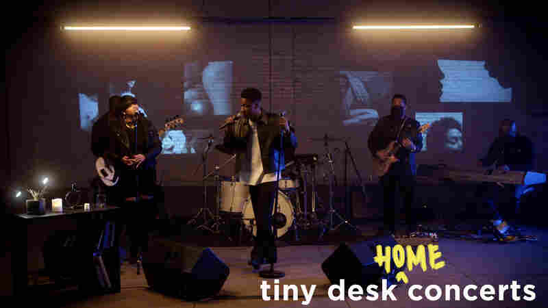 GIVĒON: Tiny Desk (Home) Concert