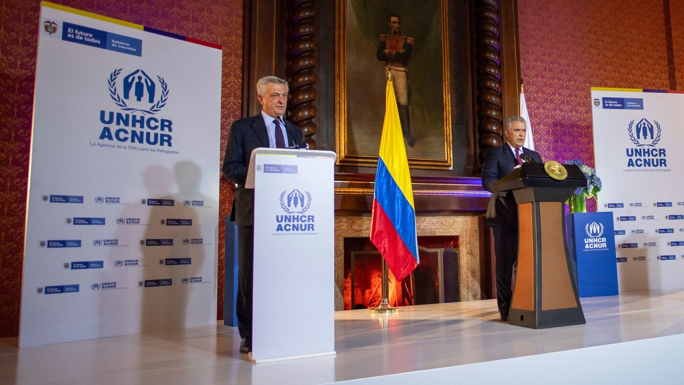 Colombia Offers Temporary Legal Status To Nearly 1 Million Venezuelan Migrants