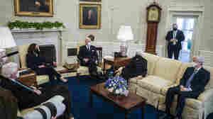 As Trump Impeachment Trial Heats Up, Biden Steers Clear