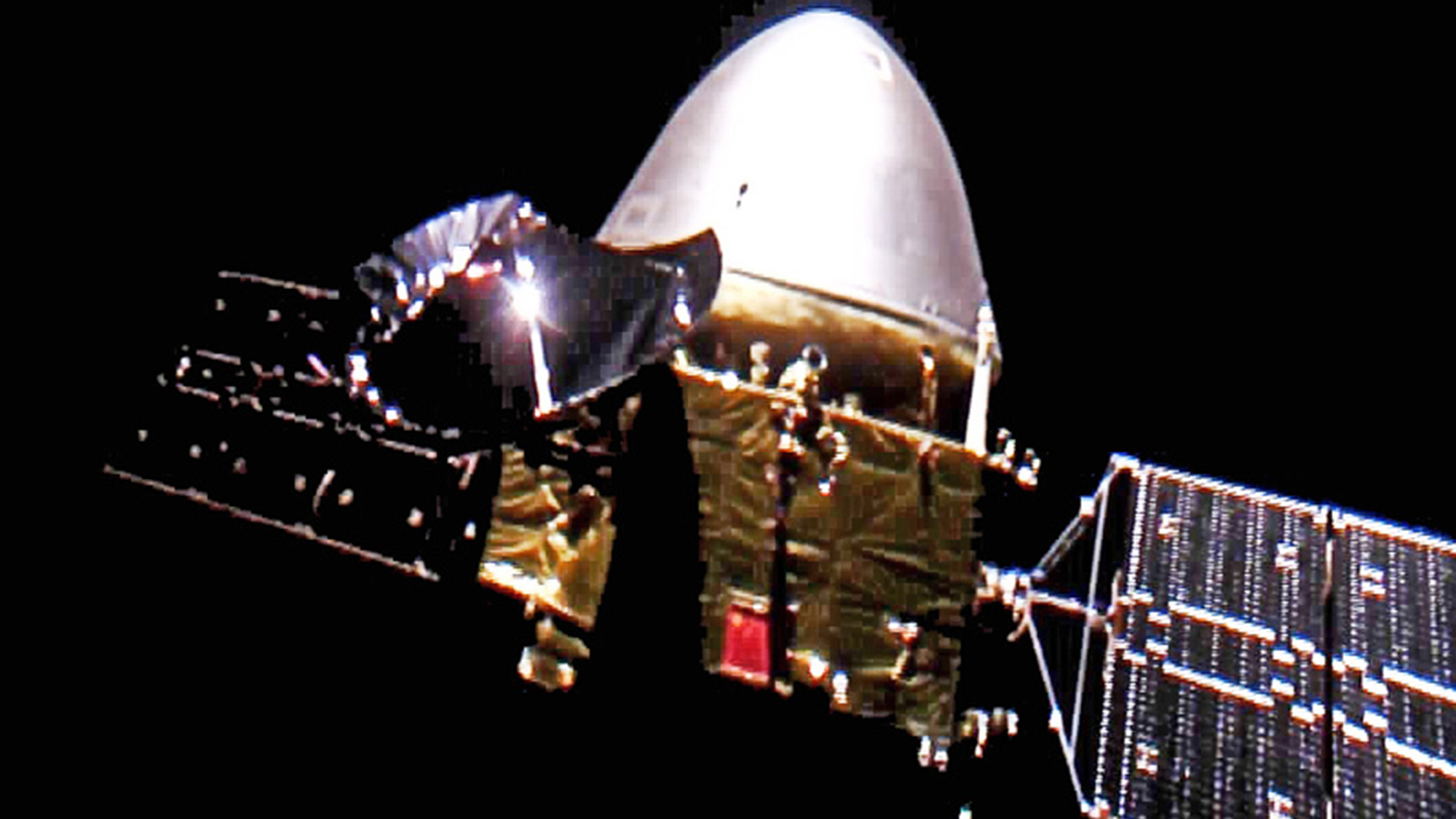 Chinese Probe Enters Mars Orbit With Plan For May Landing ...