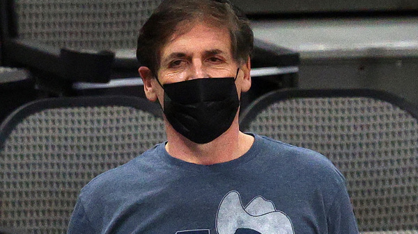 """The Dallas Mavericks have stopped playing """"The Star-Spangled Banner"""" before their games at American Airlines Center, a decision that reportedly came directly from owner Mark Cuban."""