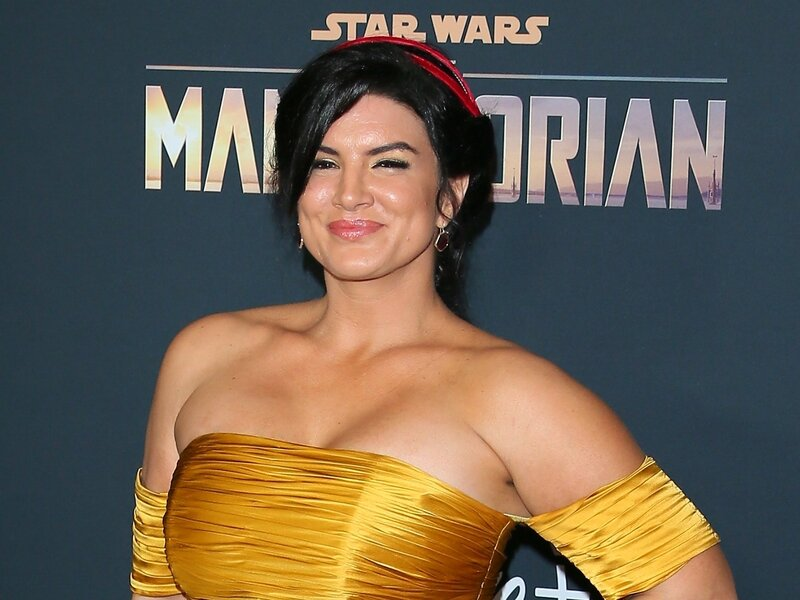 Lucasfilm Ditches Gina Carano From 'The Mandalorian' Over Social Media Posts