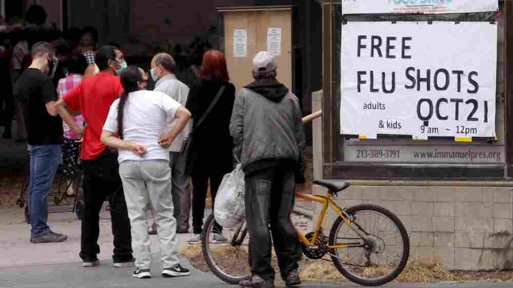 Where Did The Flu Go? Homebound Kids Shape A Mild Season