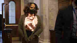 Stacey Plaskett Addresses Emotional Toll Of Seeing Black Women Used in Trump Defense