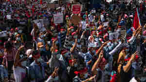 Myanmar Protests Continue In Wake Of Military Takeover